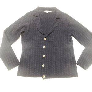 🍭 Boden Navy cable Cardigan 12